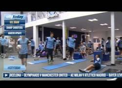 Enlace a VÍDEO: La reacción de los jugadores del Manchester City al sorteo de Champions contra el Barça