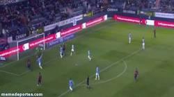 Enlace a GIF: El mejor gol en propia puerta de la Copa del Rey lo hace Weligton