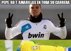Enlace a Tarjetas amarillas, Pepe vs Neymar