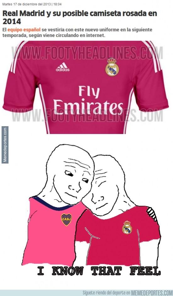230272 - La posible camiseta rosa del Real Madrid