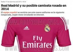 Enlace a La posible camiseta rosa del Real Madrid