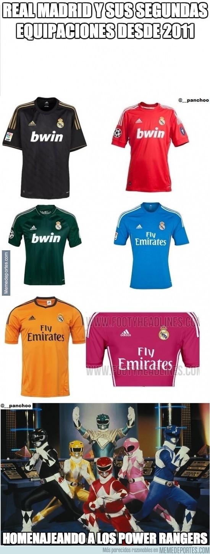 230501 - Real Madrid y sus segundas equipaciones desde 2011