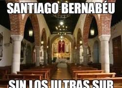 Enlace a Santiago Bernabéu sin los ultras sur