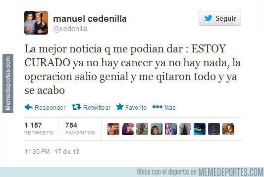 230782 - Cedenilla, una de las perlas de la cantera del Madrid, golea al cáncer
