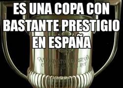 Enlace a Es una copa con bastante prestigio en España