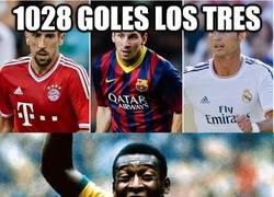 Enlace a 1028 goles los tres