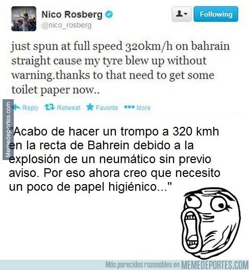 231122 - El Tweet de Nico Rosberg que después fue borrado misteriosamente, Vía: www.motor.es