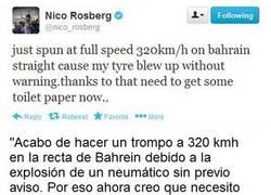 Enlace a El Tweet de Nico Rosberg que después fue borrado misteriosamente, Vía: www.motor.es