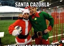 Enlace a En el Arsenal sí sienten la Navidad