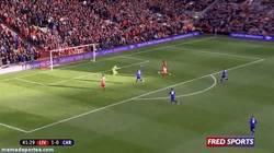 Enlace a GIF: Gol de Sterling a pase de Suárez