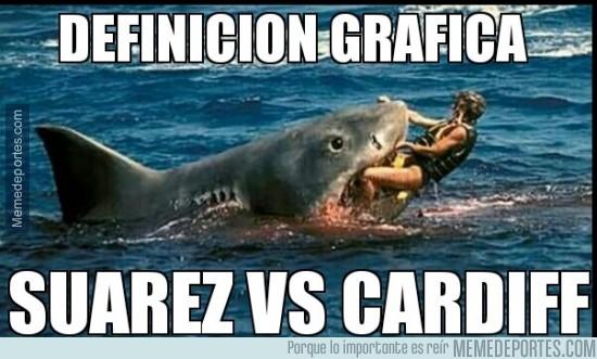 231948 - Tiburón Suárez destrozando al Cardiff