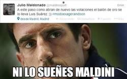 Enlace a No lo sueñes, Maldini
