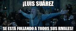 Enlace a ¡Luis Suárez se está f*llando a todos!