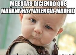 Enlace a Me estás diciendo que mañana hay Valencia-Madrid