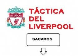 Enlace a Táctica del Liverpool actualmente