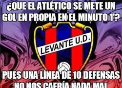 Enlace a ¿Que el Atlético se mete un gol en propia en el minuto 1'?