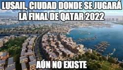 Enlace a Lusail, ciudad donde se jugará la final de Qatar 2022