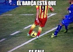 Enlace a El Barça está que se sale
