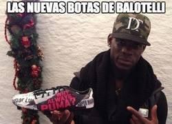 Enlace a Las nuevas botas de Balotelli