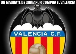 Enlace a Un magnate de Singapur compra el Valencia