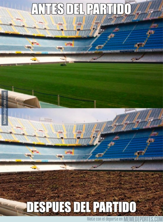 232950 - Mestalla, antes y después del partido
