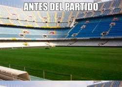 Enlace a Mestalla, antes y después del partido