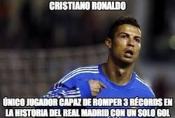 Enlace a Cristiano Ronaldo pulverizando récords