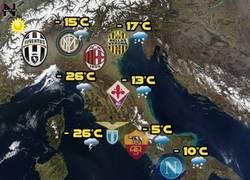 Enlace a La temperatura en Italia