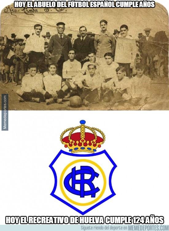 233548 - Hoy el abuelo del fútbol español cumple años