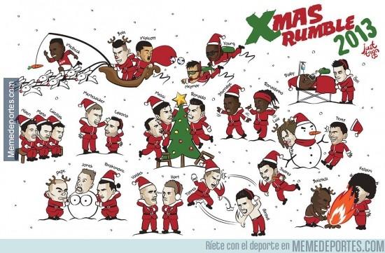 233771 - Así viven los jugadores la Navidad