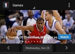 Enlace a La NBA sí que sabe dar regalos de Navidad