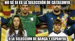 Enlace a No sé si es la selección de Catalunya