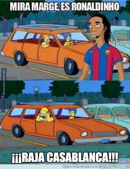 234255 - Ahora ya sabemos cómo cabrear a Ronaldinho