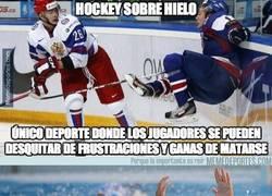 Enlace a ¿Sólo el hockey?