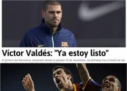 Enlace a Valdés ya esta listo, ¡por fin!