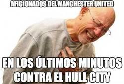 Enlace a Estos son los aficionados del Manchester United