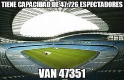 Enlace a Tiene capacidad de 47.726 espectadores