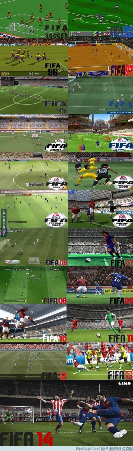 234962 - Evolución gráfica del FIFA