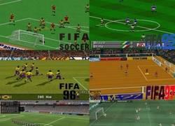 Enlace a Evolución gráfica del FIFA