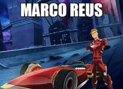 Enlace a Marco Reus Hot Wheels
