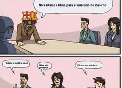 Enlace a El Barça y sus fichajes
