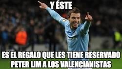 Enlace a ¿Dzeko al Valencia?