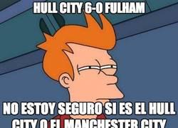 Enlace a Cambio de papeles, el Manchester City le cedió sus goleadas al Hull