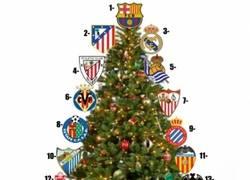 Enlace a Árbol de Navidad de la Liga BBVA
