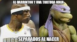 Enlace a Al Harrinton y una tortuga ninja