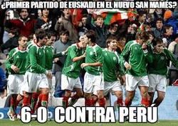 Enlace a ¿Primer partido de Euskadi en el nuevo San Mamés?