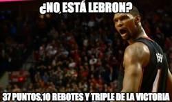 Enlace a ¿No está LeBron?