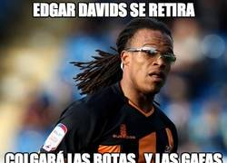 Enlace a Edgar Davids se retira