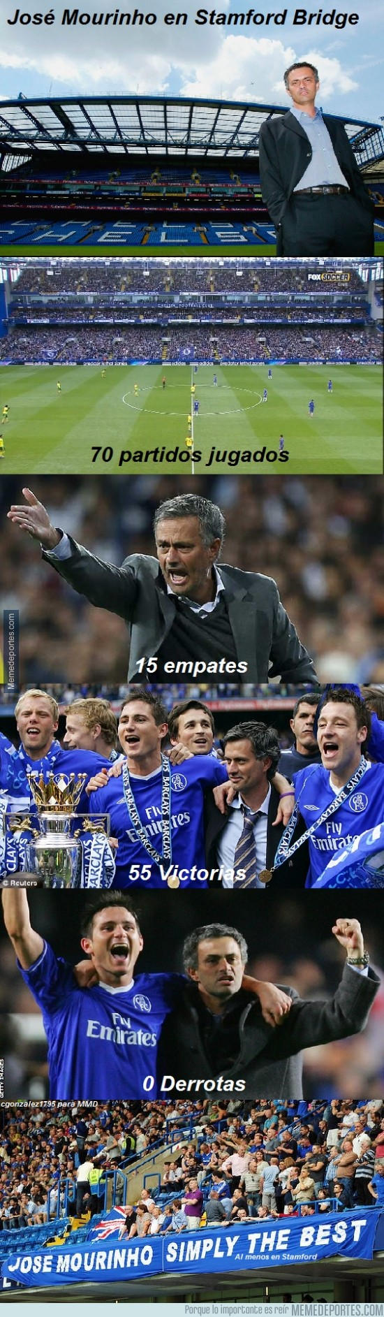 236637 - Mourinho simply the best... en Stamford Bridge