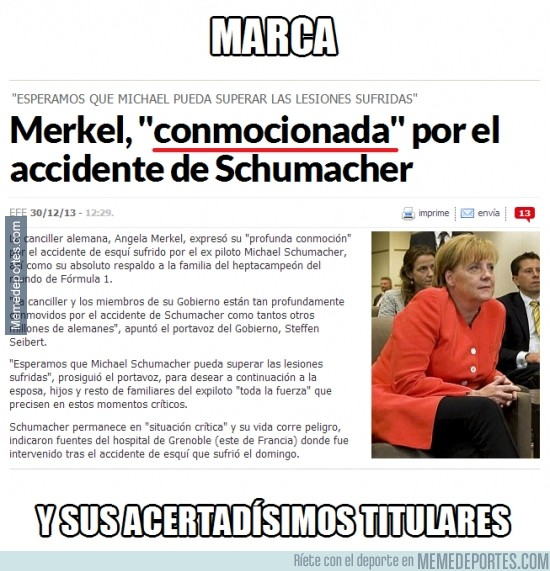 236663 - Schumi sufrió una conmoción cerebral tras el accidente